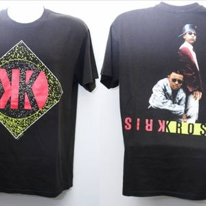 "Other - 1992 Vintage ""KRISS KROSS"" Single-Stitched Rap Tee"